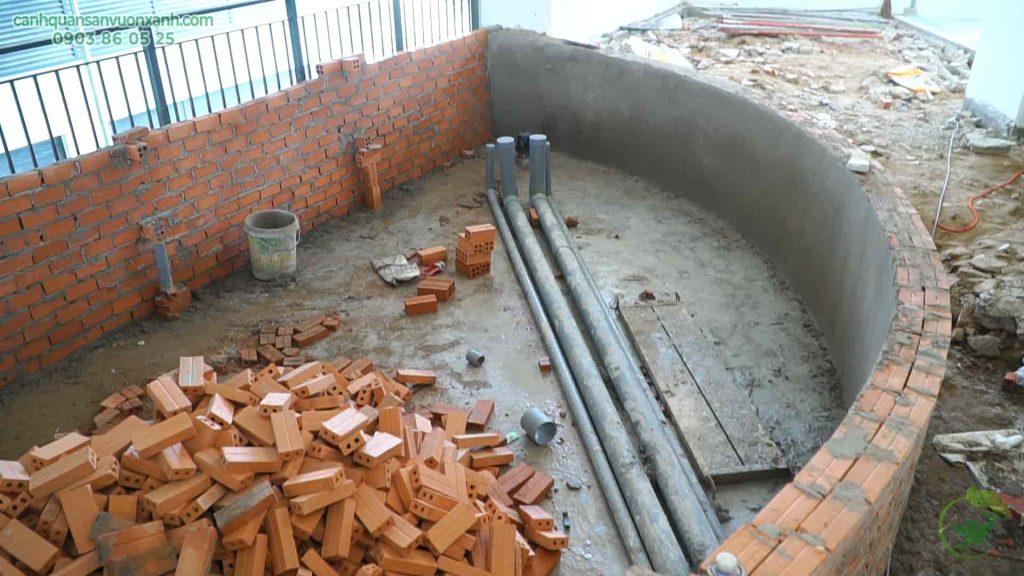 xây hệ thống lọc nước
