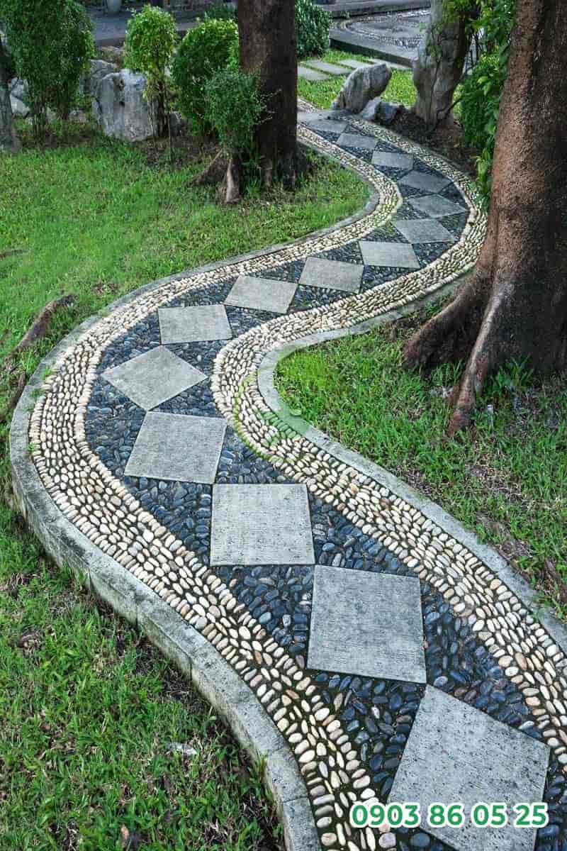 loi-di-san-vuon-phong-cach-mosaic