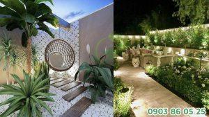 Mẫu thiết kế sân vườn nhỏ đẹp