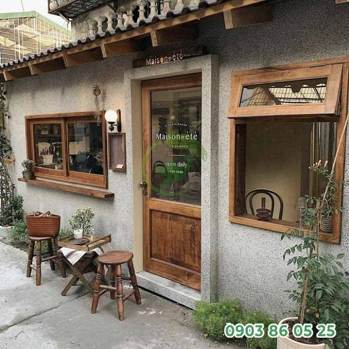 thiet-ke-quan-cafe-san-vuon-theo-phong-cach-vintage